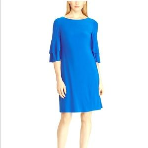 Lauren by Ralph Lauren ruffle sleeve dress